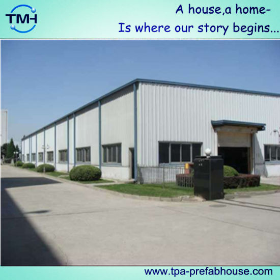 China Corrugated Roof Design Structural Steel Building Garage In