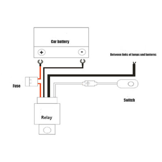 Truck Light Bar Wiring Harness Diagram from image.made-in-china.com