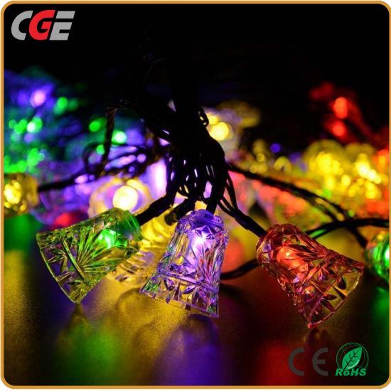 ring type led colorful outdoor christmas string light fairy light decoration light led christmas light