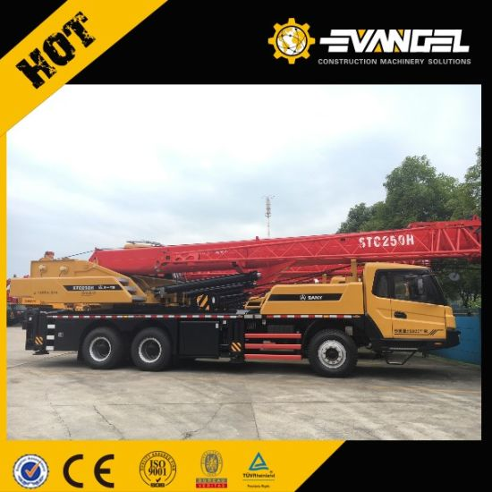 Small Mobile 25 Tons Truck Crane with Hydraulic System