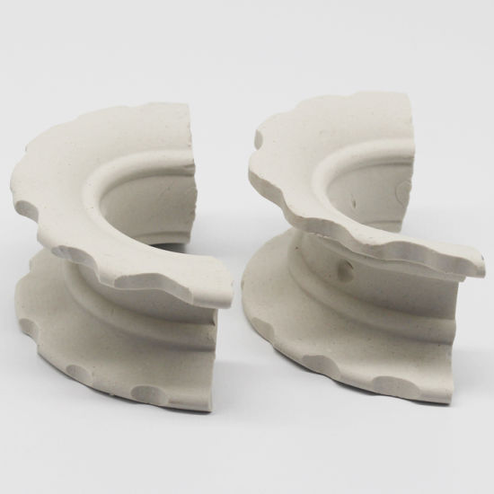China Ceramic Super Intalox Saddle Ring For Drying Tower China Ceramic Super Saddle Ceramic Saddle