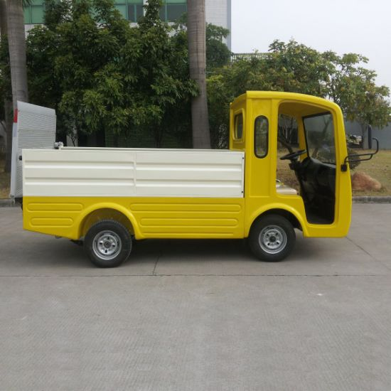2 Seater Electric Garbage Collecting Car pictures & photos