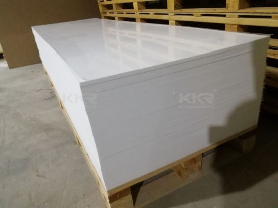 Factory Wholesale Corian 12mm Artificial Stone Slabs Wall Panel and Countertop