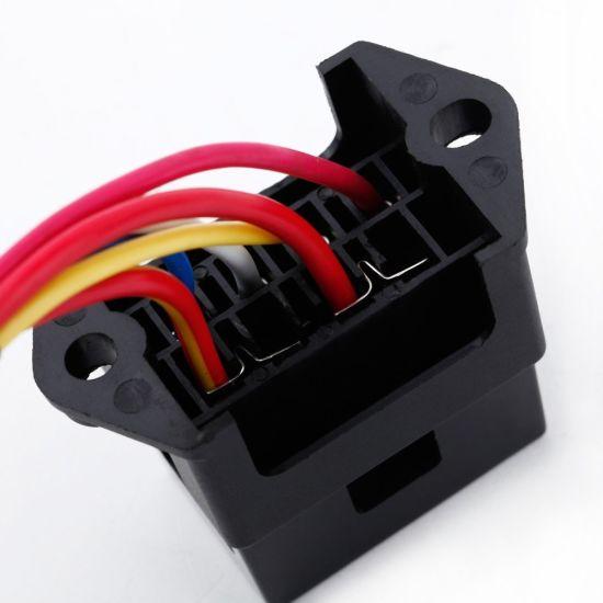 4 Way DC32V Circuit Car Trailer Auto Blade Fuse Box Block Holder Inline  Way Car Fuse Box on
