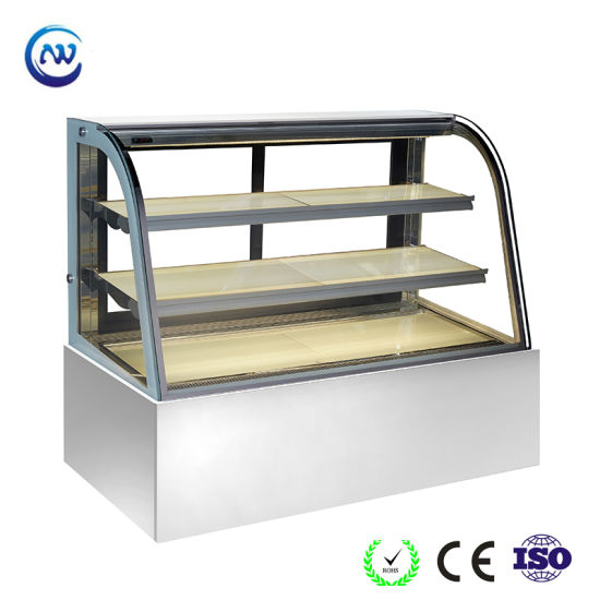 Low Power Consumption Cheese Pastry Refrigerator Cake Fridge (RL770A-S2)