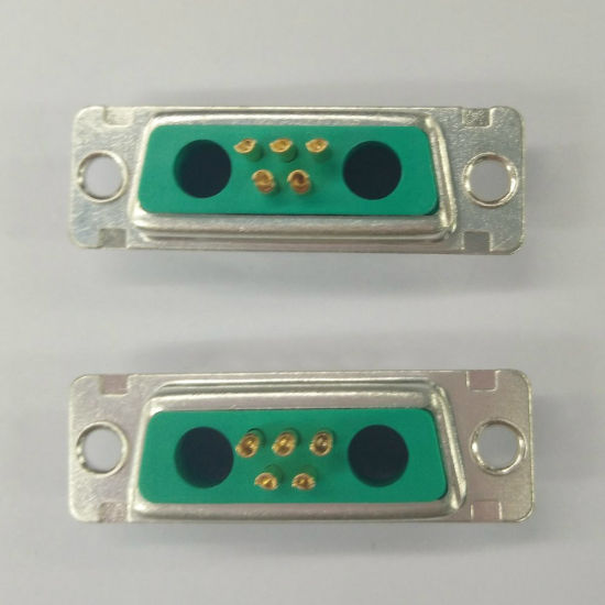 Coaxial 7W2 Male Solder Type Connector pictures & photos