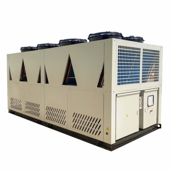 Ce Certification Hot Sale Sulfuric Acid Cooling Plant 156 Kw 50 Ton Air Cooled Chiller Price