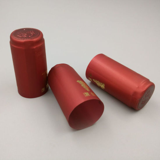 Eco-Friendly PVC Capsules for Wine Packing