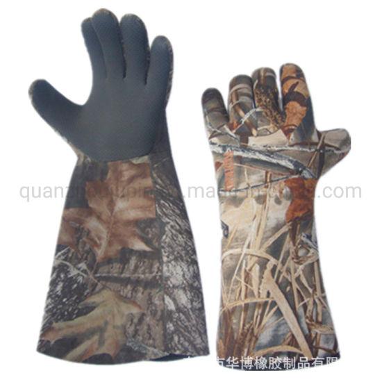 OEM Anti Slippery Heat Proof Fishing Gloves