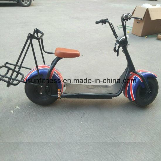 China 2 Wheel Electric Golf Car Mini One Passenger Golf Club Car