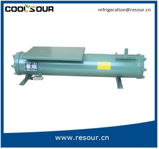 Shell Tube Heat Exchanger, Water Cooled Condenser for Refrigeration pictures & photos