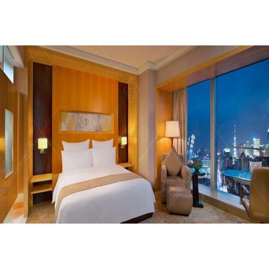 China Teak Wood Bedroom Set Of Hotel Furniture For Sale China