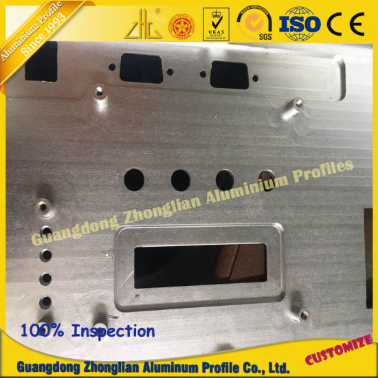 Factory Customized Anodized Tube Aluminum Extrusion Profile CNC pictures & photos