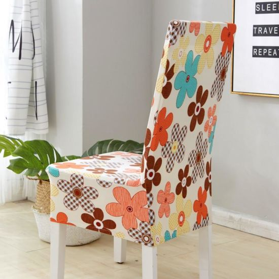 Chair Seat Cover for Home Dining Office Hotel High Elastic Soft Chair Cover 2017