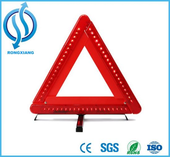High Visibility Heavy Duty Warning Triangle pictures & photos