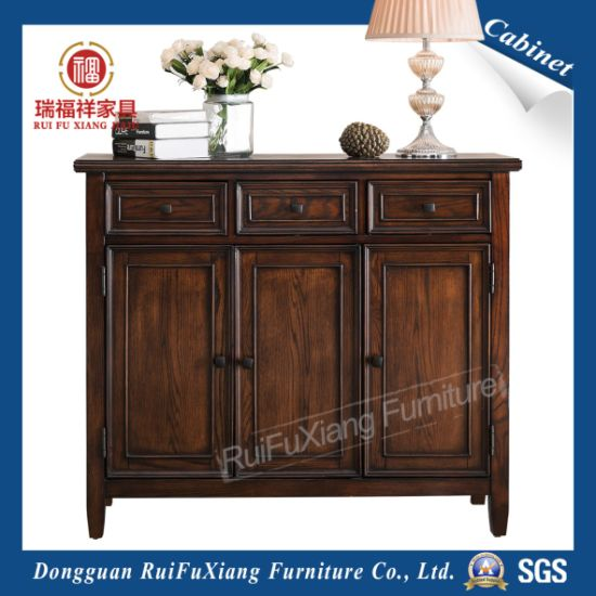 Ruifuxiang Oak Wood Cabinet For Shoes (AL330)