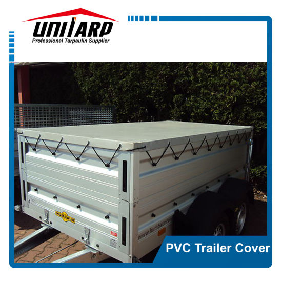 Acrylic Lacquered PVC Boxed Trailer Cover pictures & photos