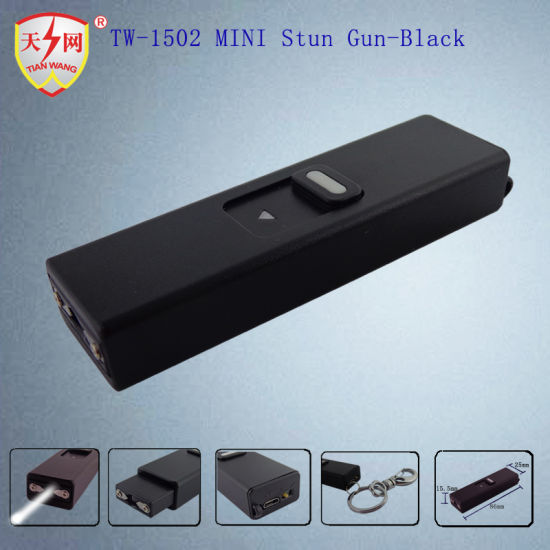 China Self Defense Keychain Stun Guns With Flashlight China Stun