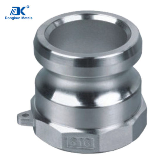 Custom Stainless Steel Quick Coupling Parts