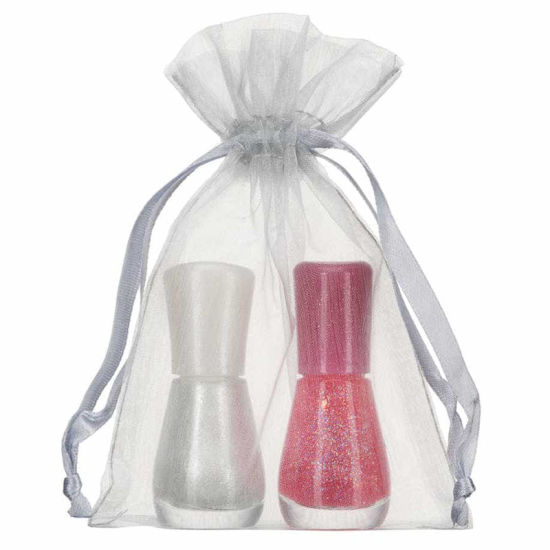 MOQ 1000PCS Jewelry Packing Drawstring Organza Bag