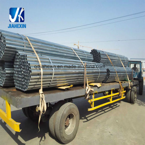 3.6m Carbon Steel Pre-Galvanized Hot Dipped Galvanized Painting Power Coated Steel Pipe Cutting to Length