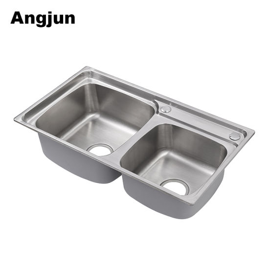 China Reliable Quality Ss 304 Flat Bottom Online Shopping Kitchen ...