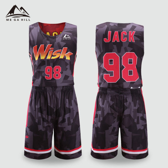 Wholesale Best Design Sublimated Cheap Custom Blank Basketball Jerseys  Uniform ca1040985