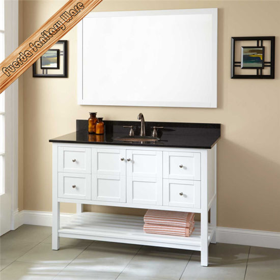 "Fed-352A 24"" Small Size Single Sink Espresso Modern Bathroom Cabinet pictures & photos"