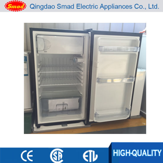 Black Color Single Door Mini Refrigerator With Lock And Key