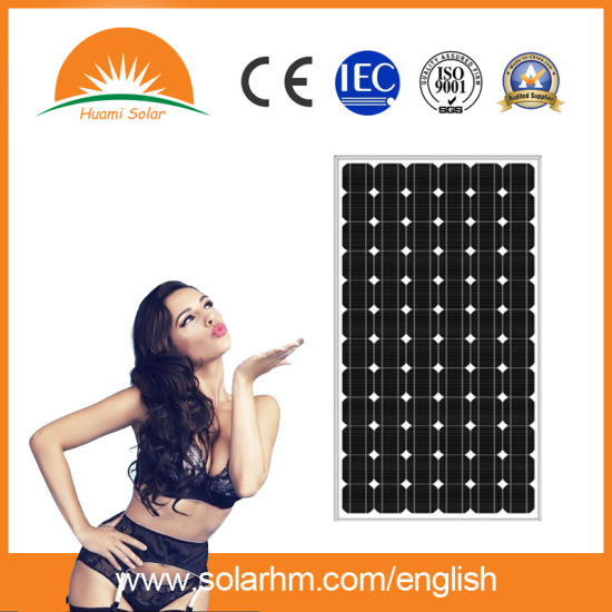 (HM295M-72) 295W Mono-Crystalline Solar Panel with TUV Certificate pictures & photos