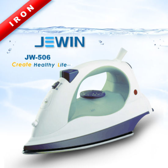 Dry And Steam Self Cleaning Iron With Teflon Soleplate