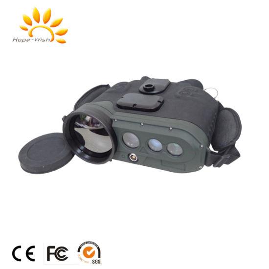 5km Lrf GPS Military Multi Function IR Thermal Imager Binoculars