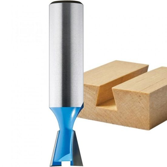 Carbide-Tipped Dovetail Joint Router Bit