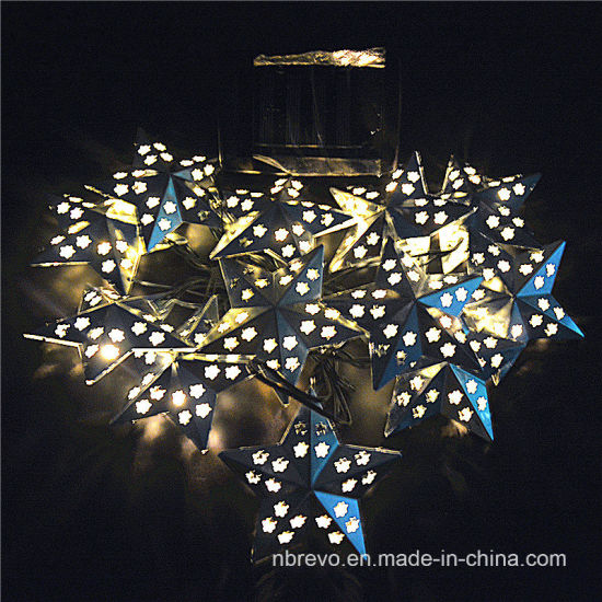 Solar Star Fairy String Lights Garden