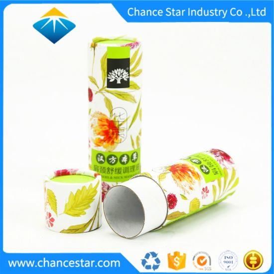 Custom Printing Massage Oil Packging Cardboard Paper Kraft Roll Core Tube