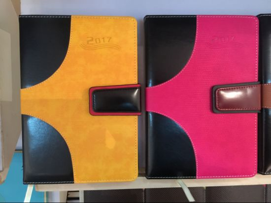A5 PU Leather Journal/Diary with Flap for Promotion