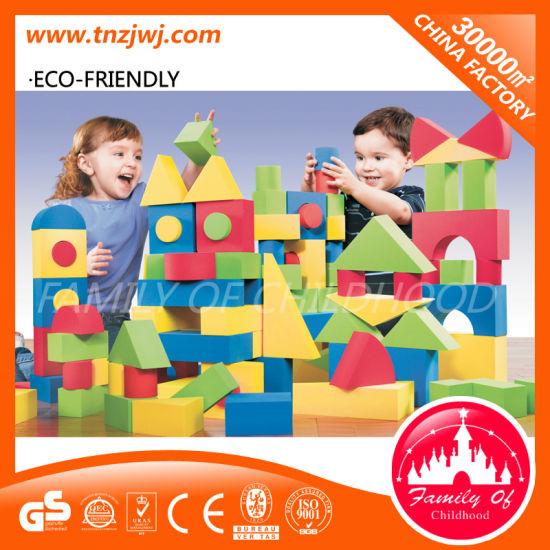 Funny Nursery Soft Plastic Baby Building Block pictures & photos