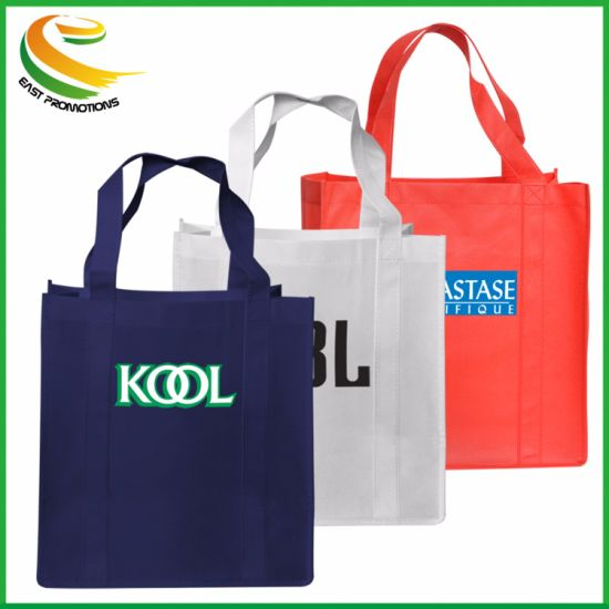 Custom Full Color Design PP Non Woven Recycle Advertising Tote Bag pictures & photos