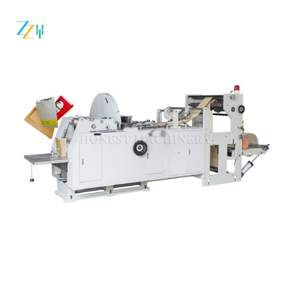 China Factory Price Stainless Steel Paper Bag Making Machine
