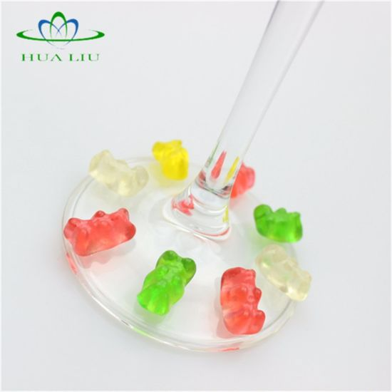 Vegan Pectin Calcium Gummy Bears for Child pictures & photos