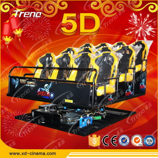 Hot Sell Large 5D Cinema Equipment, 5D Cinema/Theater Furniture