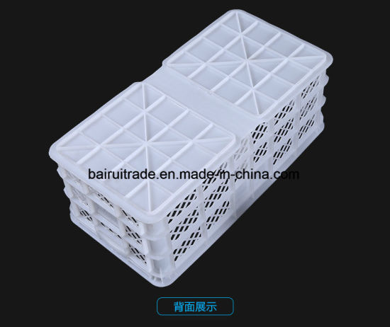 Customized Plastic Storage Basket, Plastic Vegetable Basket, Plastic Fish Basket pictures & photos