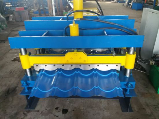 Color Steel Galzed Tile Roof Roll Forming Machine pictures & photos