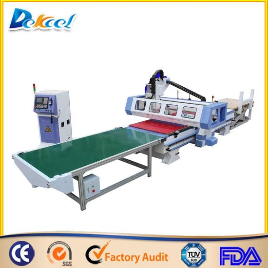CNC Machine Center with Loading CNC Unloading System 1325 pictures & photos