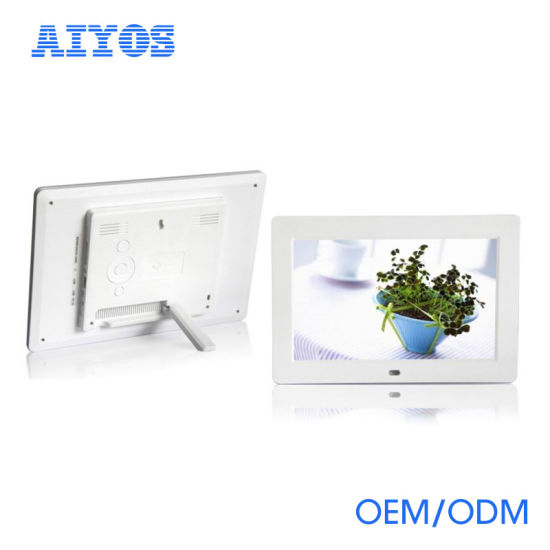 China Hot Cheap 10 Inch Digital Picture Frames with Remote Control ...
