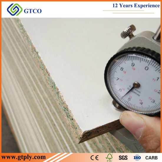 1830X2440X16mm White Melamine Board for Cabinets