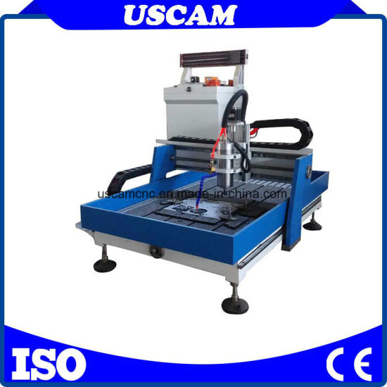 Mini Size CNC Stone Router for Aluminum Jade Carving pictures & photos