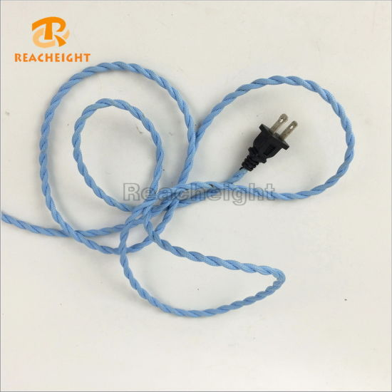 Us 2 Prong Plug Power Cord Extension Cable Cord