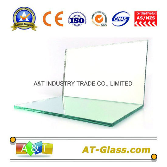 1.5mm-6mm Float Aluminum Mirror with Single or Double Back Paint