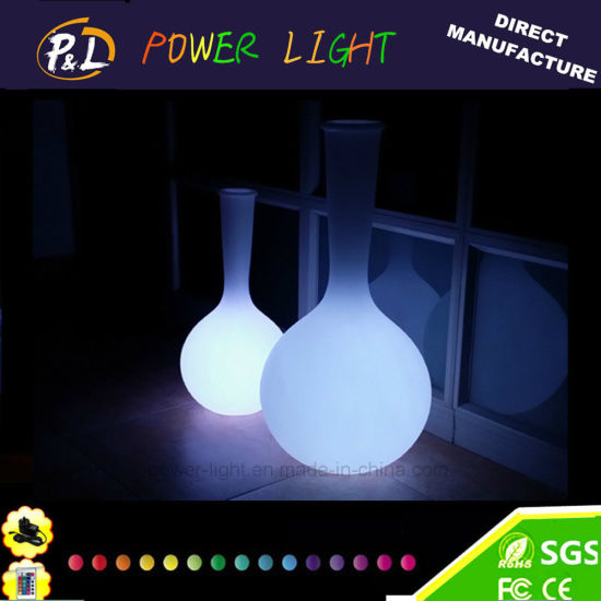 Classic Glowing Flowerpot LED Flower Vase pictures & photos